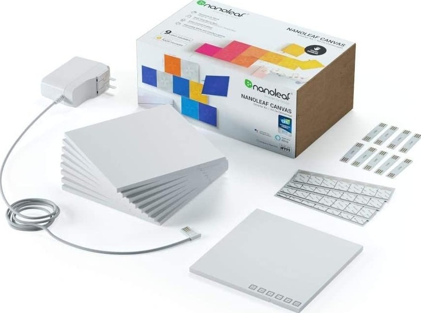 NANOLEAF LIGHT PANELS RHYTHM EDITION SMARTER KIT NL28-2010TW-15PK