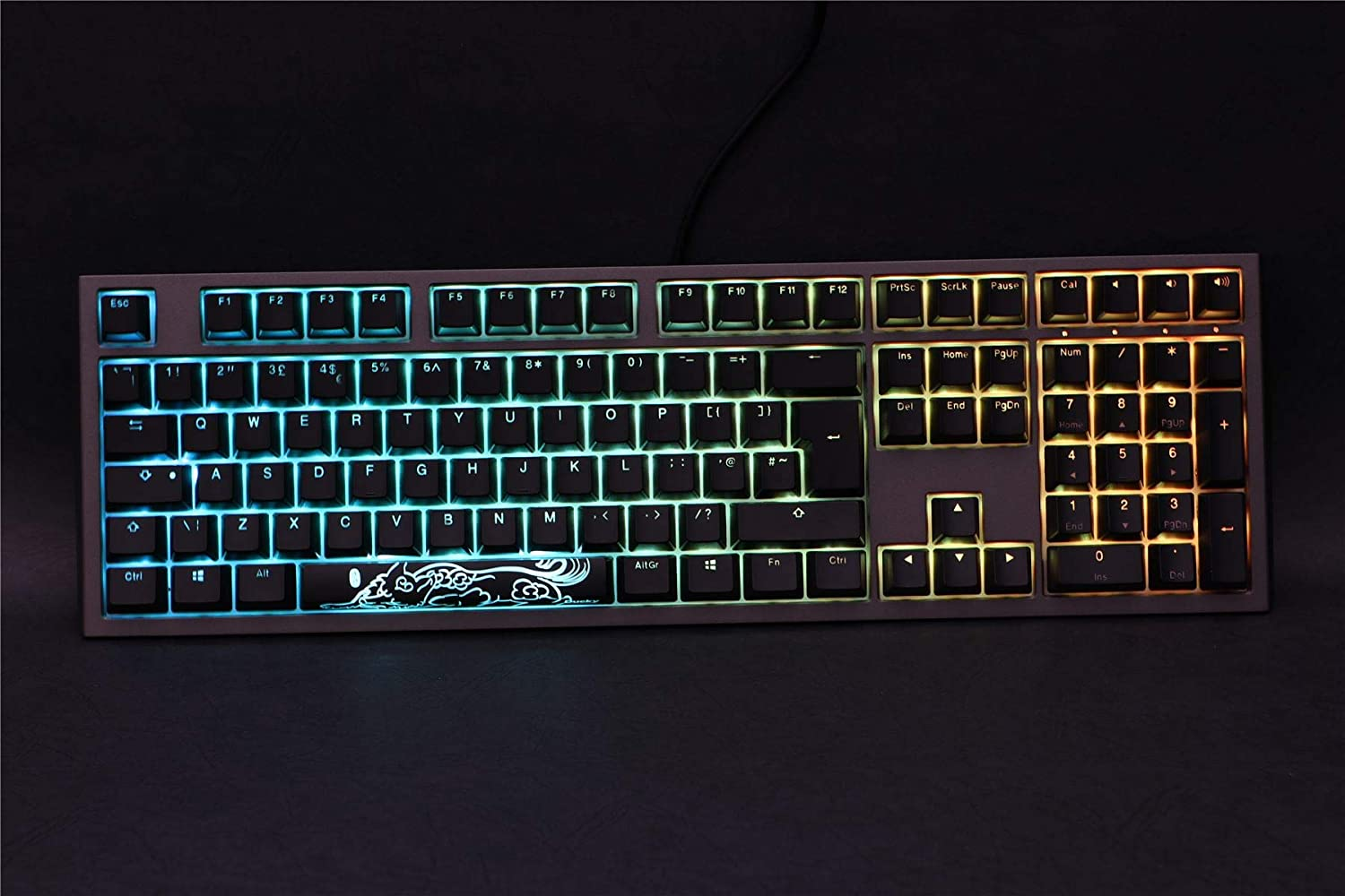 DUCKY CHANNEL SHINE7 CHERRY RGB SPEED SWITCH / BLACK CASE /RGB DKSH1808ST-PUSPDAAT1