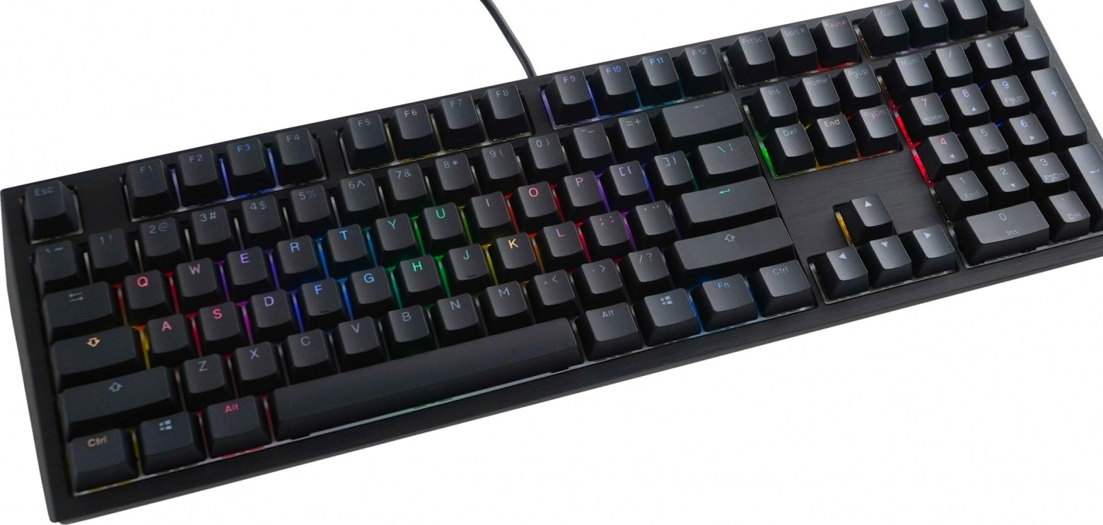 DUCKY CHANNEL SHINE7 CHERRY RGB SPEED SWITCH / BLACK CASE /RGB DKSH1808ST-RUSPDAAT11