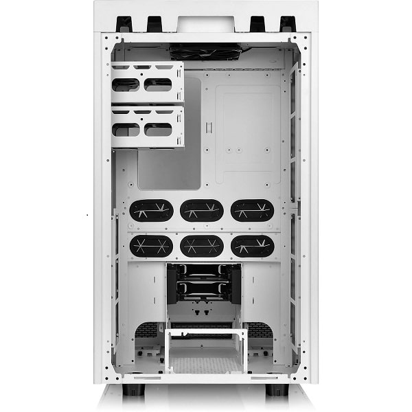The Tower 900/White/Win/SGCC/Tempered Glass