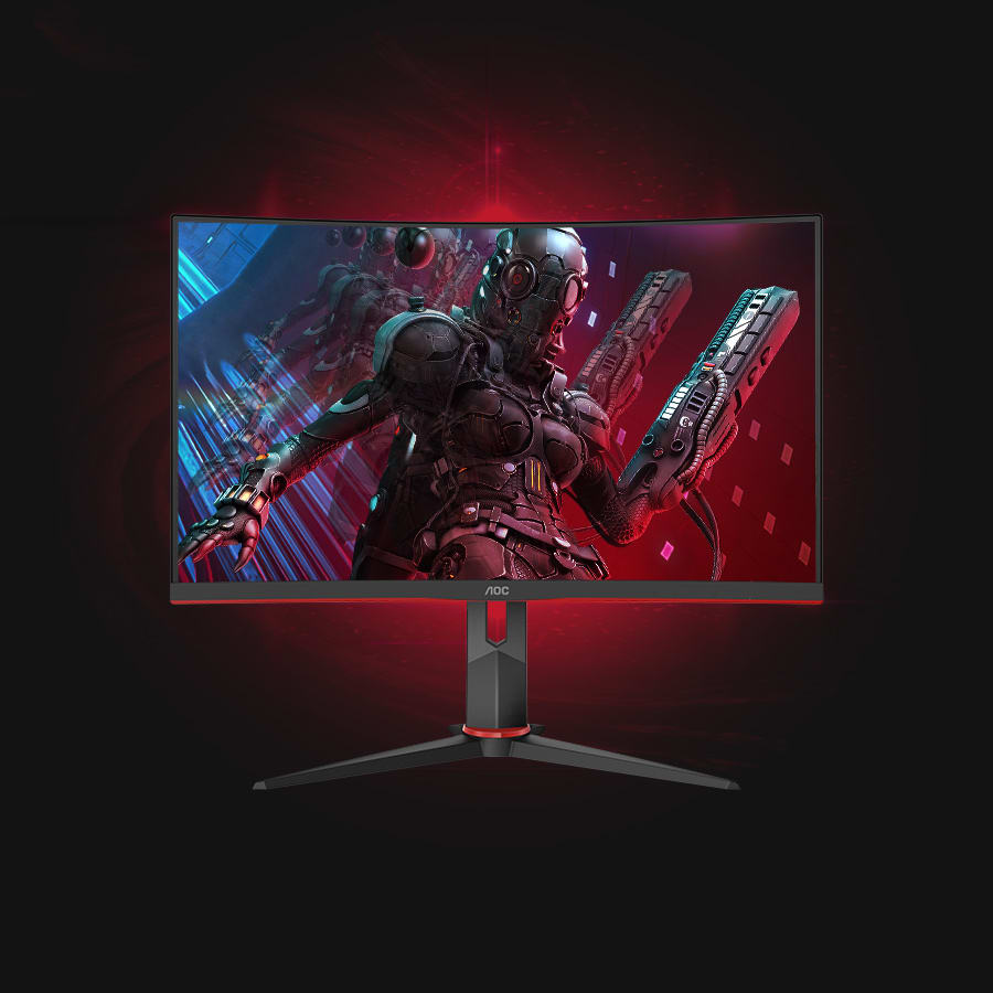 AOC C27G2Z 27-Inches 240Hz GTG 0.5 MS MPRT Gaming Monitor | C27G2Z