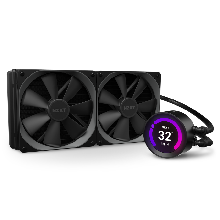 NZXT Kraken Z63  280mm AIO Liquid Cooler with LCD Display