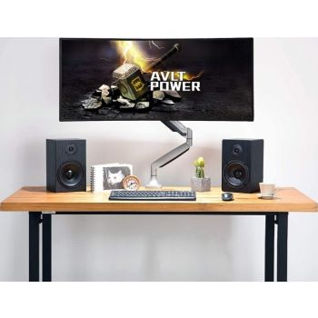 SKILL TECH MONITOR DESK MOUNT FLAT&CURVED LED/LCD MONITOR