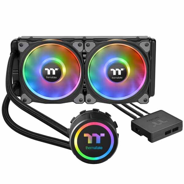 Floe DX RGB 280 TT Premium Edition/All-In-One Liquid Cooling System/Braided Tube/Riing Duo RGB Software Fan 140*2