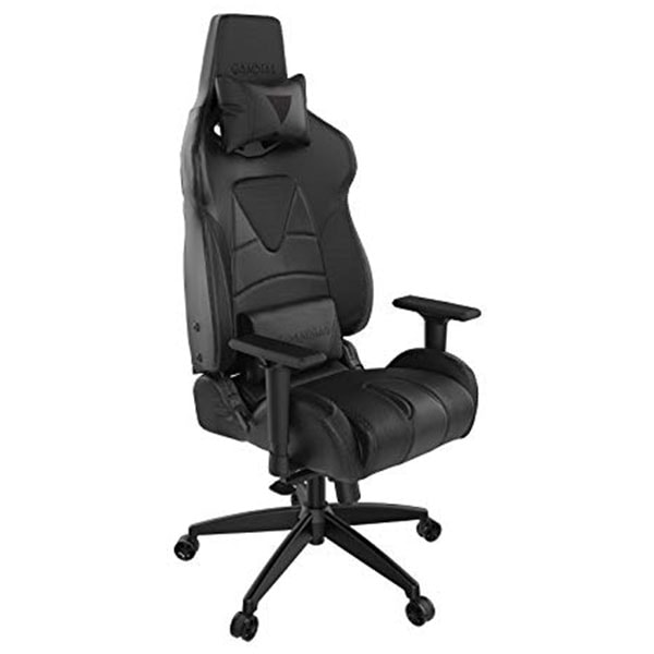 Gamdias Gaming Chair  - Achilies P1 L - Black only - RGB Light with Leg Rest