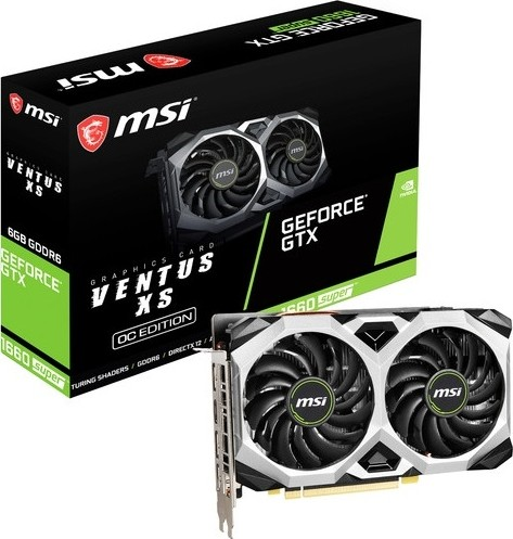 MSI-GTX 1660-6GB-SUPER-VENTUS XS OC