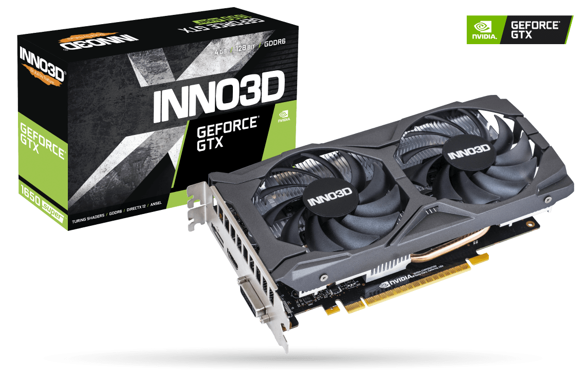 INNO 3D-GTX 1650 SUPER TWIN X2 OC