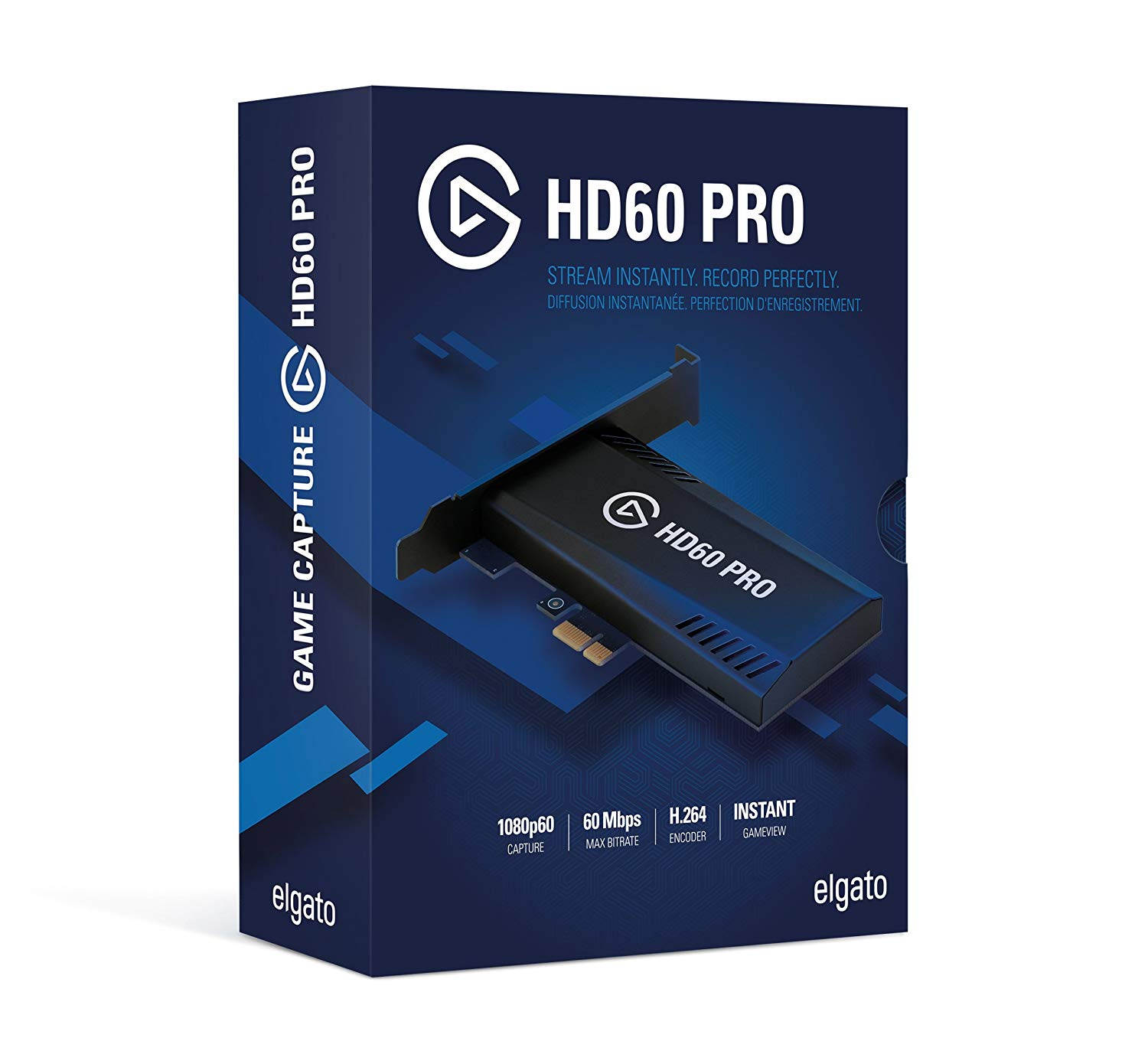 Elgato HD60 Pro Superior Low Latency Technology Game Capture Card   1GC109901002