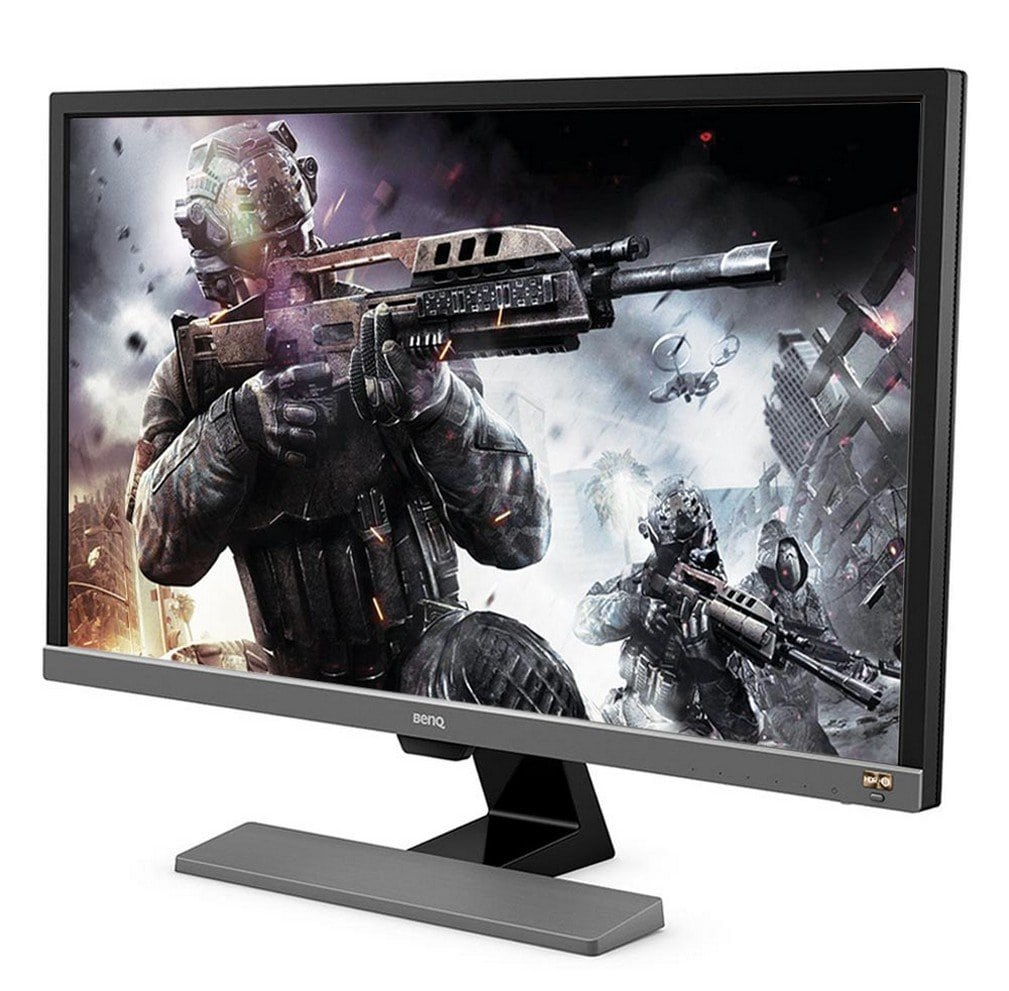 BenQ EL2870U 28-inch (3840x2160) 4K HDR Console UHD Monitor (x2 HDMI, x1 DP, x2 Speakers 2W, FreeSync, 1ms Response Time, Eye-Care, Brightness Intelligence Plus) | EL2870U