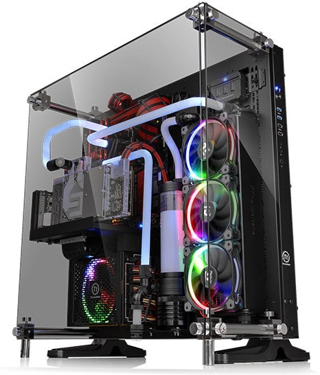 High End Water Cooling PC
