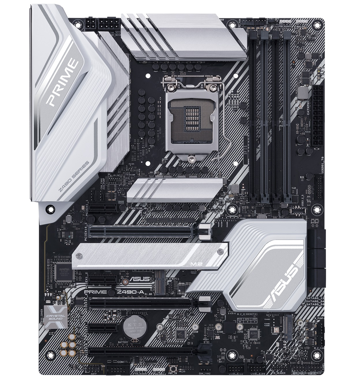 ASUS MOTHERBOARD PRIME Z490-A