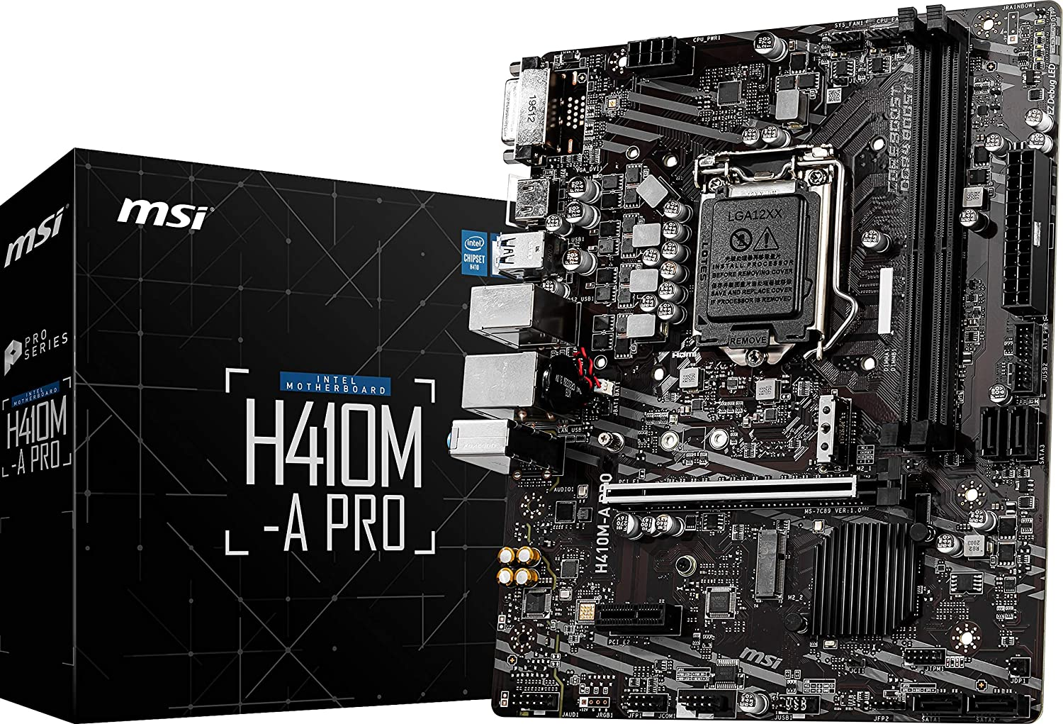 MSI MOTHERBOARD H410M-A PRO