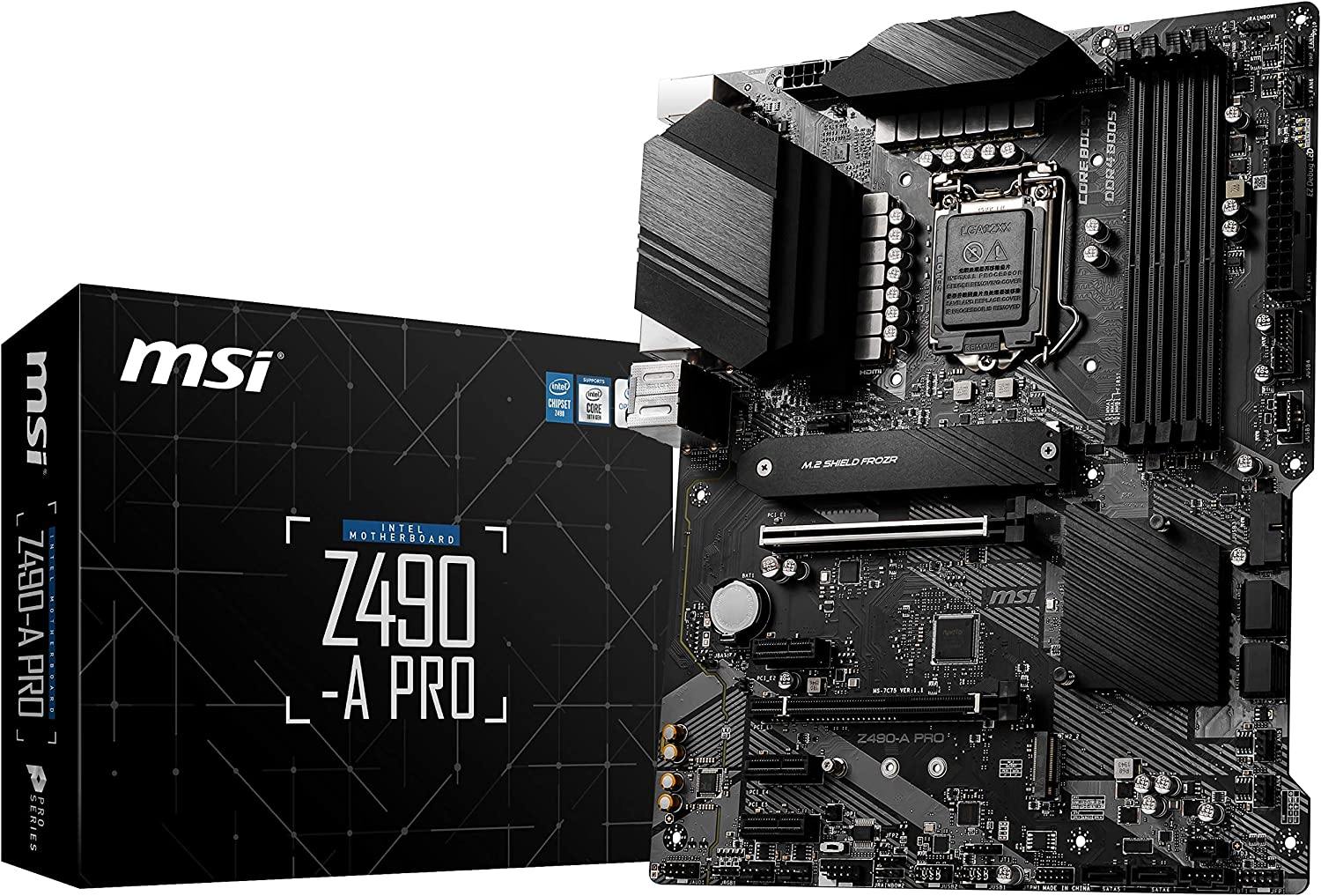 MSI MOTHERBOARD Z490-A PRO