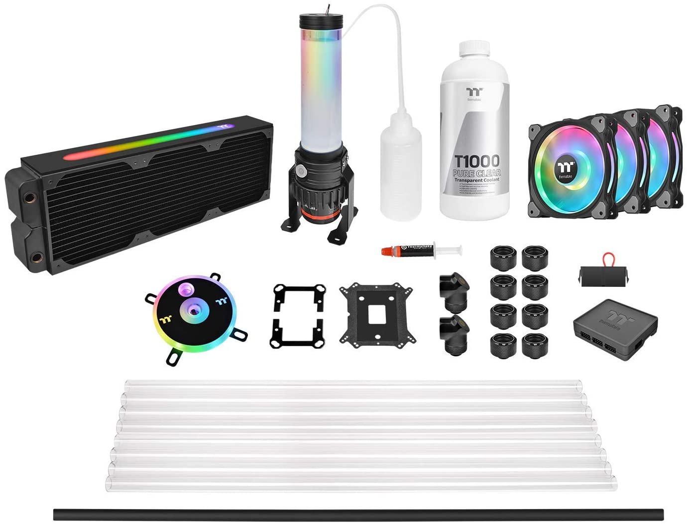 THERMALTAKE CL360 MAX HARD TUBE LIQUID COOLING KIT