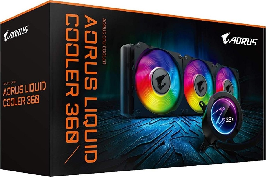 GIGABYTE AORUS LIQUID COOLER 360 CPU RGB COOLER